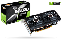INNO3D GeForce GTX 1660 Gaming OC X2, 6GB GDDR5, 3x DisplayPort 1.4, HDMI 2.0b