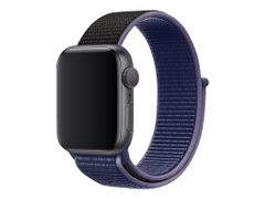 Apple 40mm Sport Loop - Klokkestropp - Vanlig - midnattsblå - for Watch (38 mm, 40 mm)