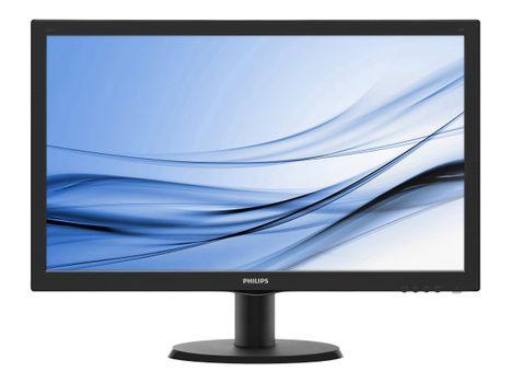 """Philips V-line 243V5LHAB - LED-skjerm - Full HD (1080p) - 23.6"""" (243V5LHAB/00)"""