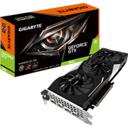 Gigabyte GeForce GTX 1660 GAMING OC 6G - OC Edition - grafikkort - GF GTX 1660 - 6 GB GDDR5 - PCIe 3.0 x16 - HDMI, 3 x DisplayPort