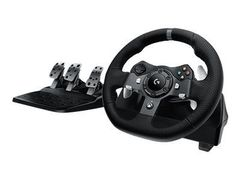 Logitech G920 Driving Force - Hjul- og pedalsett - kablet - for Microsoft Xbox One, demobrukt