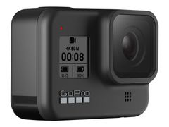 GoPro HERO8 Black - Actionkamera - monterbar - 4K / 60 fps - 12.0 MP - Wi-Fi, Bluetooth - under vannet inntil 10 m