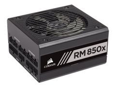 Corsair RMx Series RM850x - 2018 Edition - strømforsyning (intern) - ATX12V 2.4/ EPS12V 2.92 - 80 PLUS Gold - AC 100-240 V - 850 watt - Europa