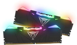 Patriot Viper RGB 16GB (2x8GB) DDR4 3200Mhz CL16, black