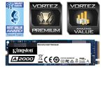 Kingston A2000 500GB PCIe SSD NVMe M.2 2280 256-bit AES (SA2000M8/500G)