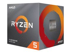 AMD Ryzen 5 3600X - 3.8 GHz - 6 kjerner - 12 strenger - 32 MB cache - Socket AM4 - Boks