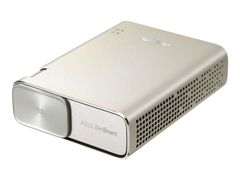 ASUS ZenBeam Go E1Z WVGA plug-and-play (Android/Windows) Micro-USB Pico Projector 150 lumens Built-in 6000mAh battery