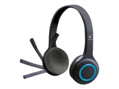 Logitech Wireless Headset H600 - Hodesett - on-ear - 2,4 GHz - trådløs, demobrukt