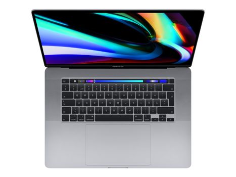 """Apple MacBook Pro with Touch Bar - 16"""" - Core i7 - 16 GB RAM - 512 GB SSD - Norsk"""