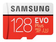 Samsung EVO Plus MB-MC128G - flashminnekort - 128 GB - microSDXC UHS-I