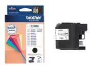 Brother LC223BK - svart - original - blekkpatron (LC223BK)