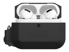 UAG Rugged Case for AirPods Pro - Silicone Case Black/Black - eske for øretelefoner