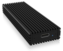 ICY BOX External enclosure for M.2 NVMe SSD, USB 3.1 Type-C, Black