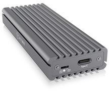 ICY BOX External enclosure for M.2 NVMe SSD, USB 3.1 Type-C, Grey