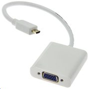 MICROCONNECT HDMI Micro - VGA adapter M-F MICRO
