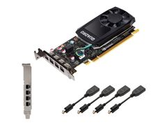 PNY NVIDIA Quadro P620 - grafikkort - Quadro P620 - 2 GB - Adapters Included
