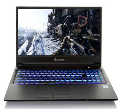 "Multicom Kunshan NH50D 15.6"" Full-HD WVA, Intel® Core™ i5-10300H, 16GB DDR4, 256GB PCIe SSD, GeForce® GTX™ 1650 4GB, uten operativsystem"