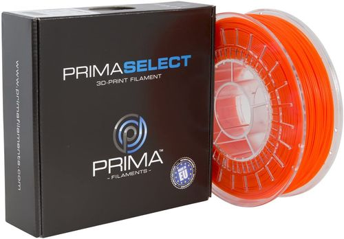 Prima Filaments PrimaSelect PLA Filament, NeonOrange 1.75 mm, 750 g (PS-PLA-175-0750-NO)