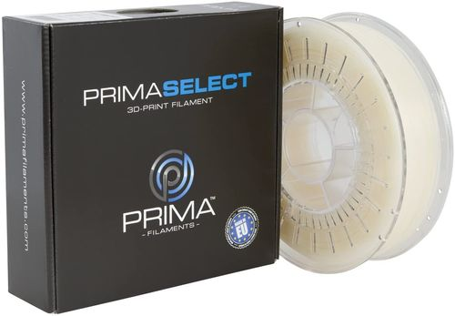 Prima Filaments PrimaSelect PLA Filament, Natural 1.75 mm, 750 g (PS-PLA-175-0750-NA)