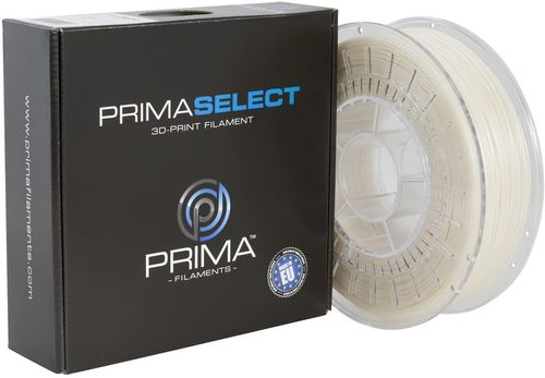 Prima Filaments PrimaSelect PLA Filament, SatinWhite 1.75 mm, 750 g (PS-PLA-175-0750-SW)
