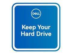 DELL 3 År Keep Your Hard Drive - utvidet serviceavtale - 3 år