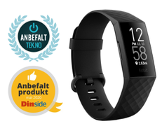 Fitbit Charge 4 - svart - m/GPS
