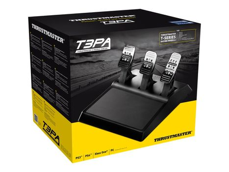 Thrustmaster T3PA - Pedaler - for PC, Sony PlayStation 3, Microsoft Xbox One, Sony PlayStation 4 (4060056)