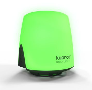PLENOM Kuando Busylight UC Omega - Presence, Ringer & Notification - opptattlampeindikator for hodesett for hodesett (15410)