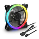 Sharkoon SHARK Blades RGB Fan 120 x 120 x 25.5 mm (4044951026876)