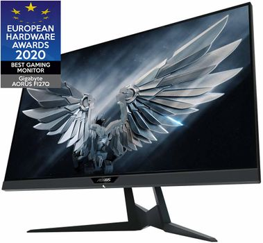 Gigabyte AORUS FI27Q Gaming Monitor QHD (2560x1440) IPS, 165Hz, 1ms, 350cd, DisplayPort, 2x HDMI