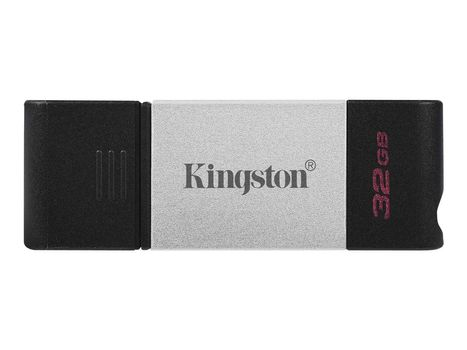 Kingston DataTraveler 80 - USB-flashstasjon - 32 GB (DT80/32GB)