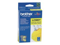 Brother LC-980 ink cartridge yellow standard capacity 5.5ml 260 pages 1-pack