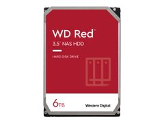 "WD Red NAS Hard Drive WD60EFAX - Harddisk - 6 TB - intern - 3.5"" - SATA 6Gb/s - 5400 rpm - buffer: 256 MB"