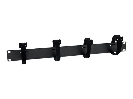 StarTech Cable Management Panel with Hook and Loop Strips for Server Racks - 1U (CMVELC1U)