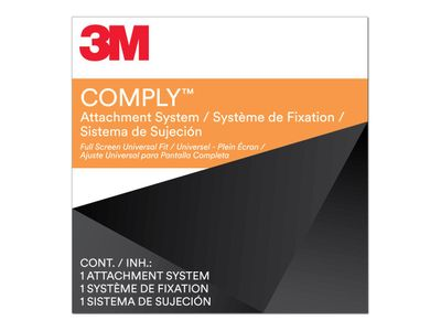 3M Comply Attachment Set - Full Screen Universal Laptop Type notebookpersonvernsfilter (7100207582)