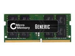 CoreParts DDR4 - modul - 16 GB - SO DIMM 260-pin - 2666 MHz / PC4-21300 - ikke-bufret