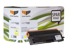 MM Print Supplies 25086UK - gul - compatible - gjenfabrikert - tonerpatron (alternativ for: Brother TN326Y)