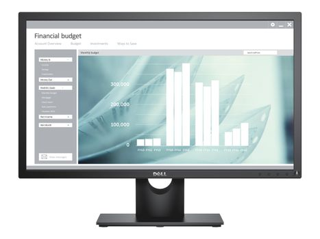 "DELL E2418HN - LED-skjerm - Full HD (1080p) - 24"" (E2418HN)"