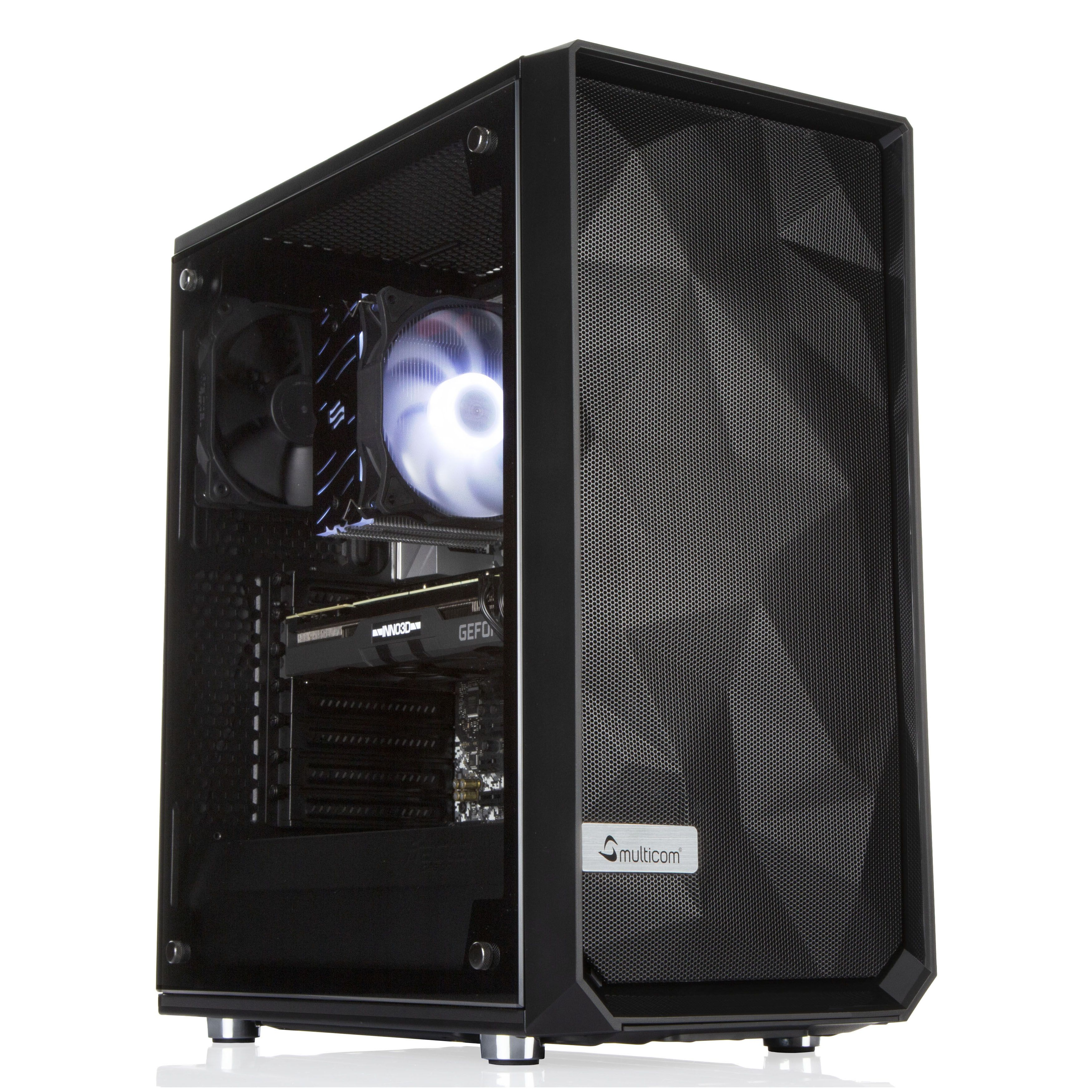 Multicom A823R Gaming-PC by INNO3D AMD Ryzen 5 3600, 16GB, 512GB PCIe SSD, 2TB HDD, GeForce RTX 2060 Super 8GB, 600W, uten operativsystem (MULTICOM-A823R-AMDFB)