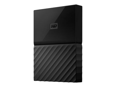 WD My Passport WDBYNN0010BBK - harddisk - 1 TB - USB 3.0 demo