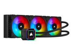 Corsair iCUE H150i Elite Capellix black, 360mm (3x120mm)