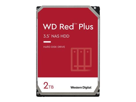 "WD Red NAS Hard Drive WD20EFRX - Harddisk - 2 TB - intern - 3.5"" - SATA 6Gb/s - buffer: 64 MB (WD20EFRX)"