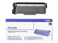 Brother TN2320 - svart - original - tonerpatron