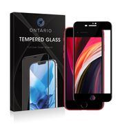 Ontario pansret glass iPhone SE (2. gen.) svart, herdet glass