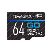 Team Group GO Card 64GB microSD 4K-opptak - UHS-I U3
