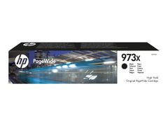HP 973X - Høy ytelse - svart - original - PageWide - blekkpatron - for PageWide Managed MFP P57750, P55250; PageWide Pro 452, 477