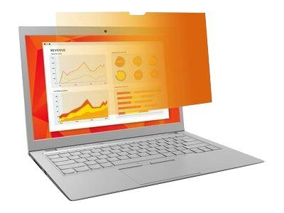"""3M personvernfilter i gull for 14"""" Laptops 16:9 with COMPLY notebookpersonvernsfilter (GF140W9E)"""