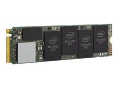 Intel Solid-State Drive 660p Series - Solid State Drive - kryptert - 512 GB - intern - M.2 2280 - PCI Express 3.0 x4 (NVMe) - 256-bit AES