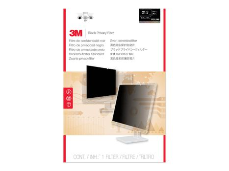 """3M personvernfilter for 21,5"""" widescreen - personvernfilter for skjerm - 21.5"""" (PF21.5W9)"""