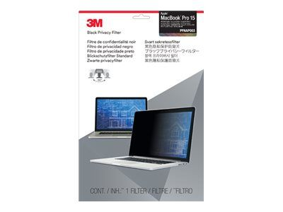 """3M personvernfilter for MacBook Pro with Retina Display (2012-2015) 15.4"""" Laptops 16:10 - notebookpersonvernsfilter (PFNAP003)"""